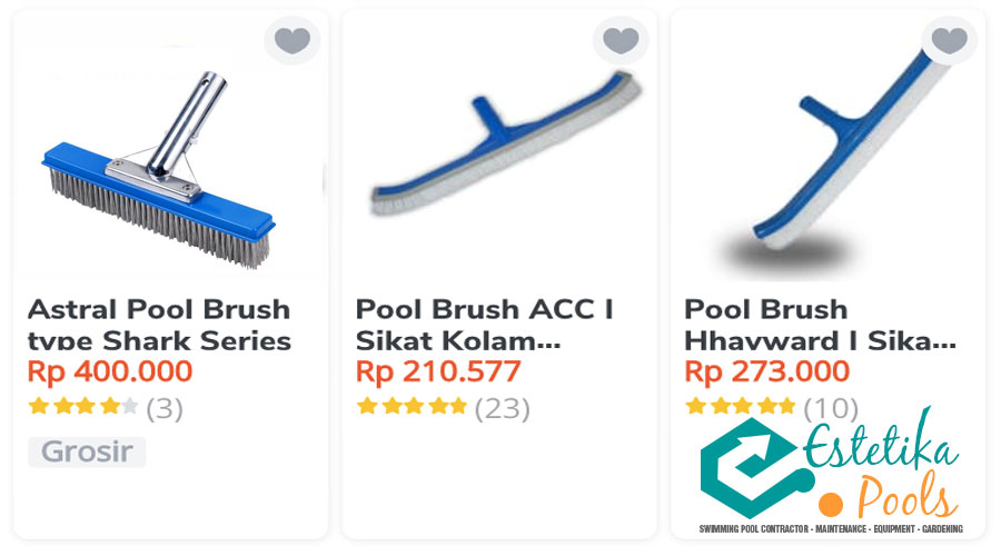 Pool Brush Kolam Renang