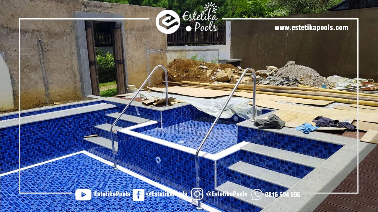Pembuatan Kolam Renang di Himalaya Villa Vimala Hills Bogor