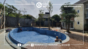 Pembuatan Kolam Renang Lippo Karawaci Tangerang Jalan Kalimantan
