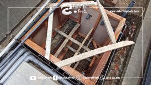 Pembuatan Ruang Mesin dan Instalasi Pipa