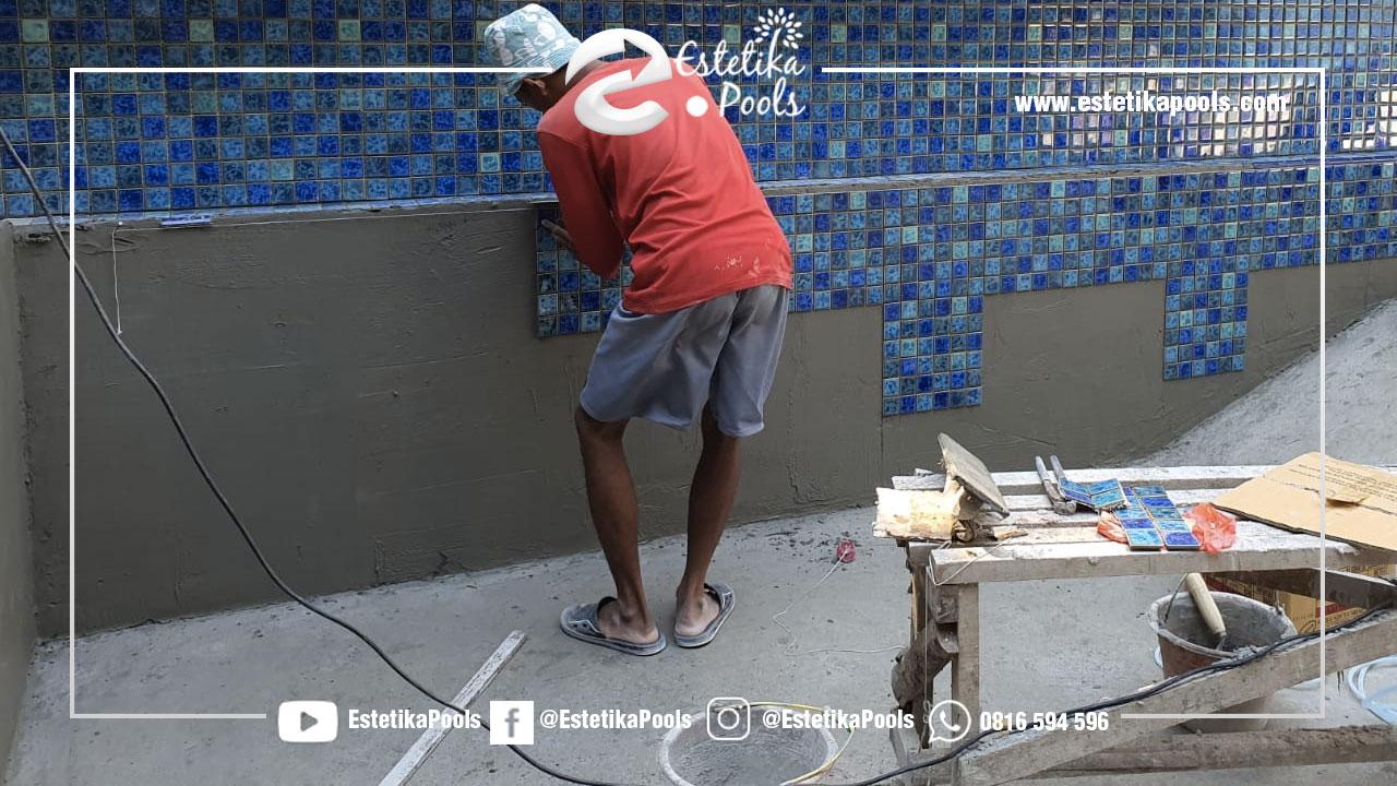 Pekerjaan Finishing Kolam Renang Cipta Raya Tangerang